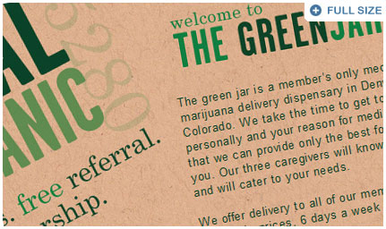 Portfolio piece: The Green Jar 5280